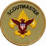 Scout Master patch