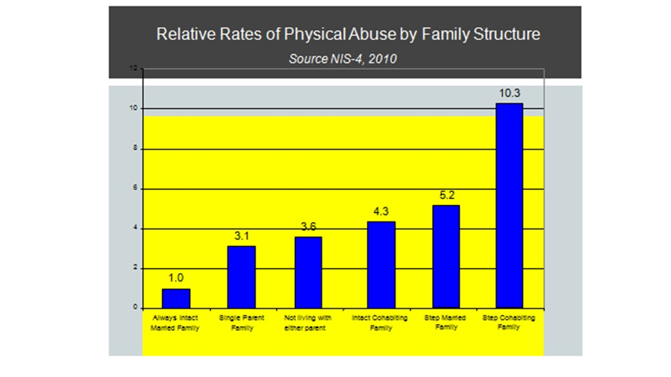 Abuse by family structure