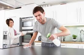 husband helping wife