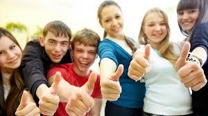 teens are happy